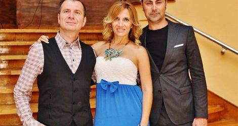 Водещите на церемонията за LIFESTYLE Оскарите в Гранд хотел България - Патриция Кирилова и Симеон Владов