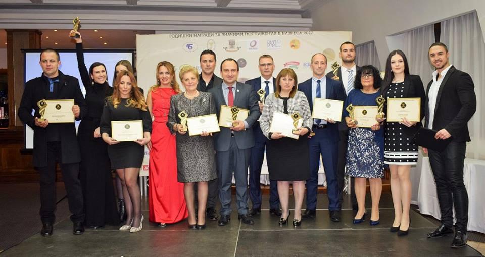 Лидерите в българската икономика бяха отличени на престижна церемония в хотел Рамада Пловдив Тримонциум снощи.